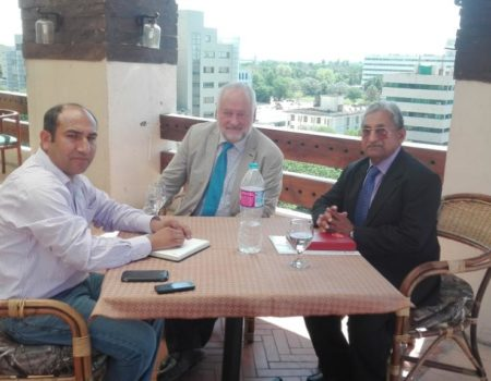 Meeting with Klaus and Akbar